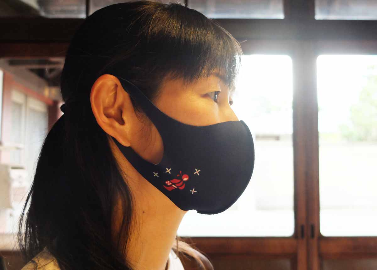 小町紋紺タイプマスク モデル